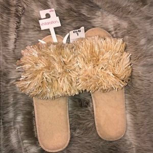 Never Worn Target Slippers